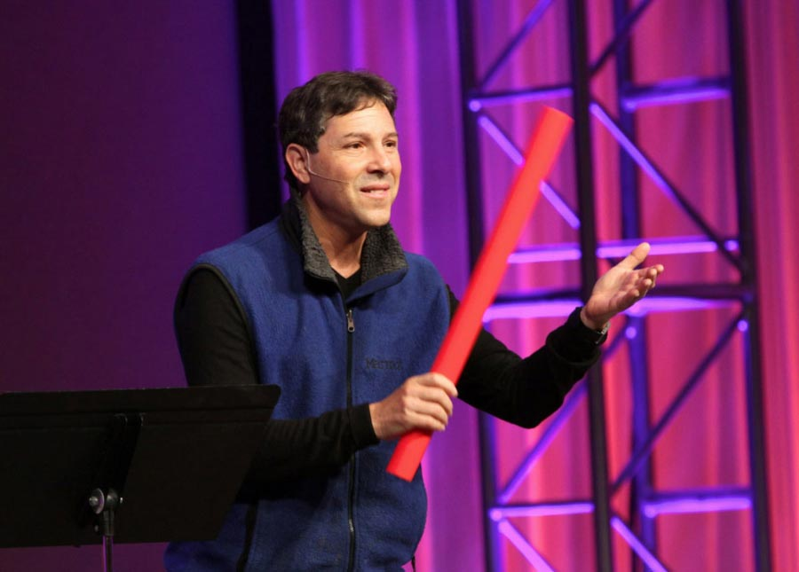 Interactive conference keynotes